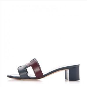 Hermès Oasis Calfskin Sandals